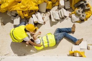construction site accidents houston injured worker